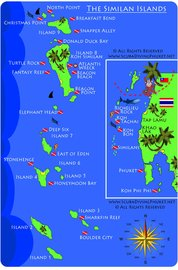 Dive Sites Similan